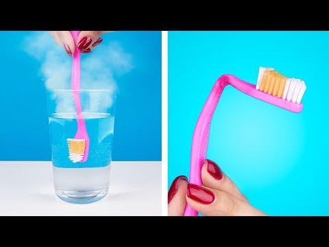 Вопрос: Как сделать браслет из зубной щетки?