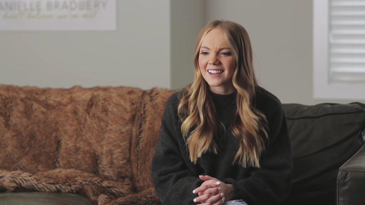 Danielle Bradbery Red Wine White Couch Cut X Cuts