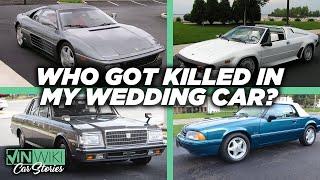 Who got killed in my wedding car?