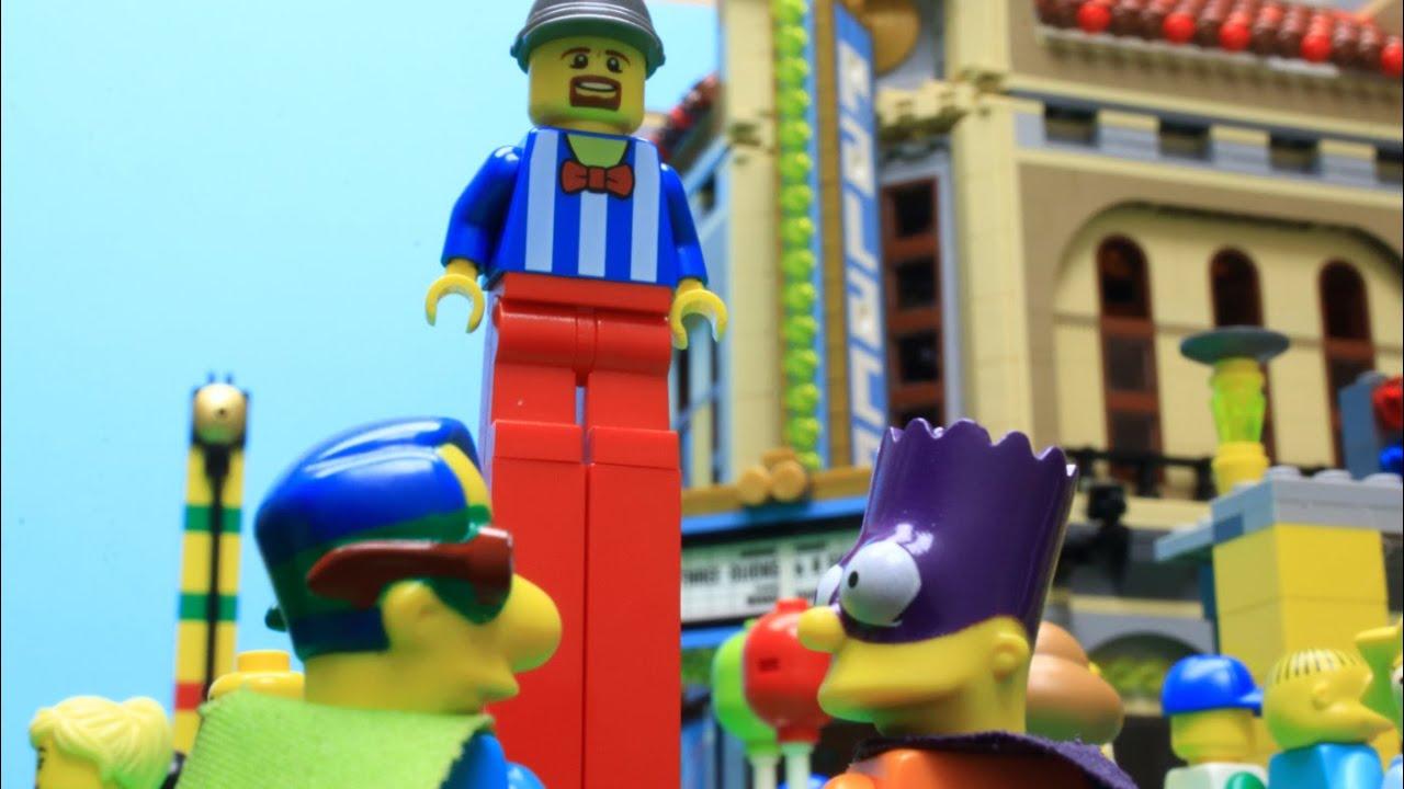 LEGO SIMPSONS A LA FETE FORAINE