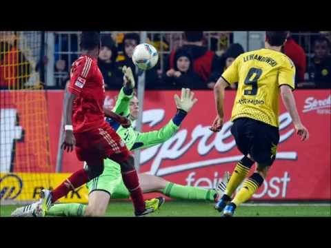 FC Bayern München - Borussia Dortmund [1:0] DFB-Pokal Viertelfinale 27.02.13