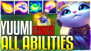 *UPDATE* Yuumi ALL ABILITIES Leaked/Revealed! New Champion - League of Legends