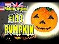 3D MODULAR ORIGAMI #123 PUMPKIN / Halloween / Jack o'lantern