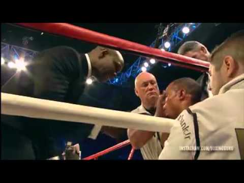 Is this the moment Chris Eubank Snr saved Nick Blackwell?