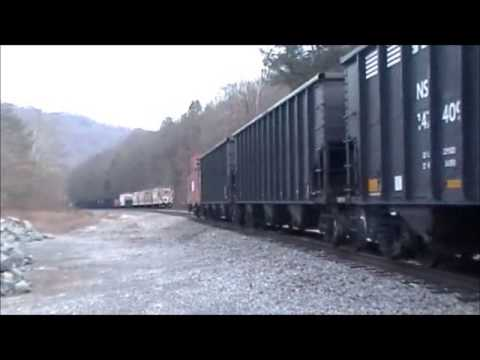 ns trains at sunbright,jasper,tito and duffield virginia