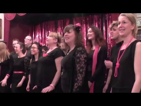 Kitsch In Sync, The Club for Acts & Actors, Bedford St, London 21st April 2016