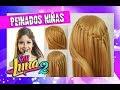 Peinado SOY LUNA Temporada 2 💗 Peinados y Trenzas con Cascada Faciles y Rapidos