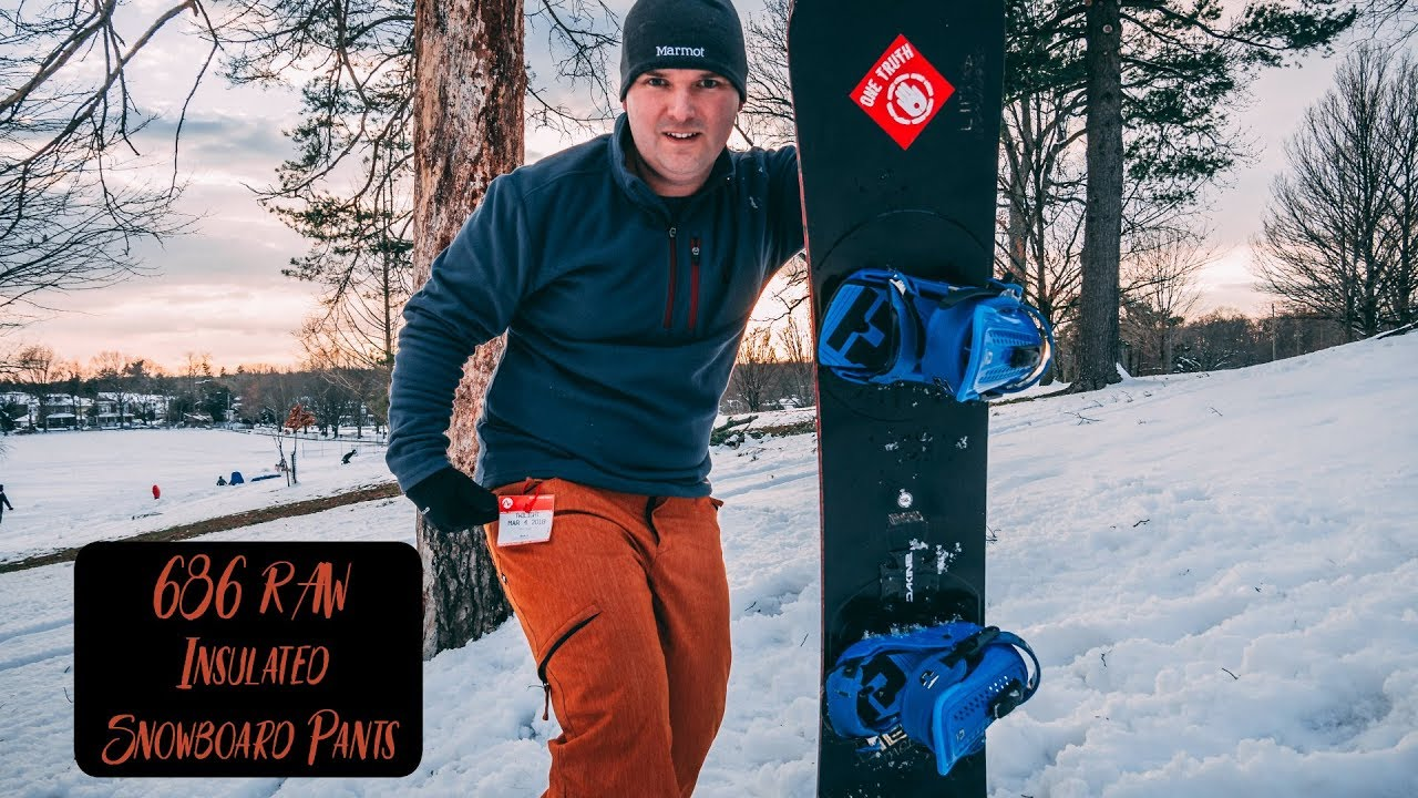 686 RAW Insulated Snowboard Pants Review A Versatile Pant For All Seasons