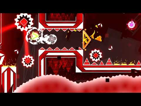Download Geometry Dash - robo by XGrax (Easy Demon) Complete [3 Coins] (Live)