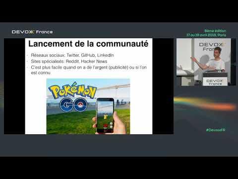 Créer Et Développer Une Communauté Open Source (Julien Dubois)