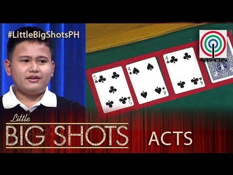Little Big Shots Philippines: Jelo   13-year-old Memory Athlete