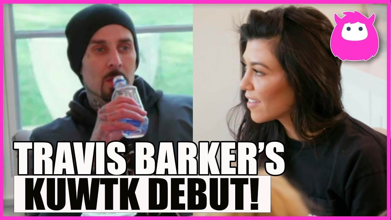 Download Travis Barker's First KUWTK Appearance on Episode S13, Ep 9 - Now Engaged to Kourtney Kardashian!