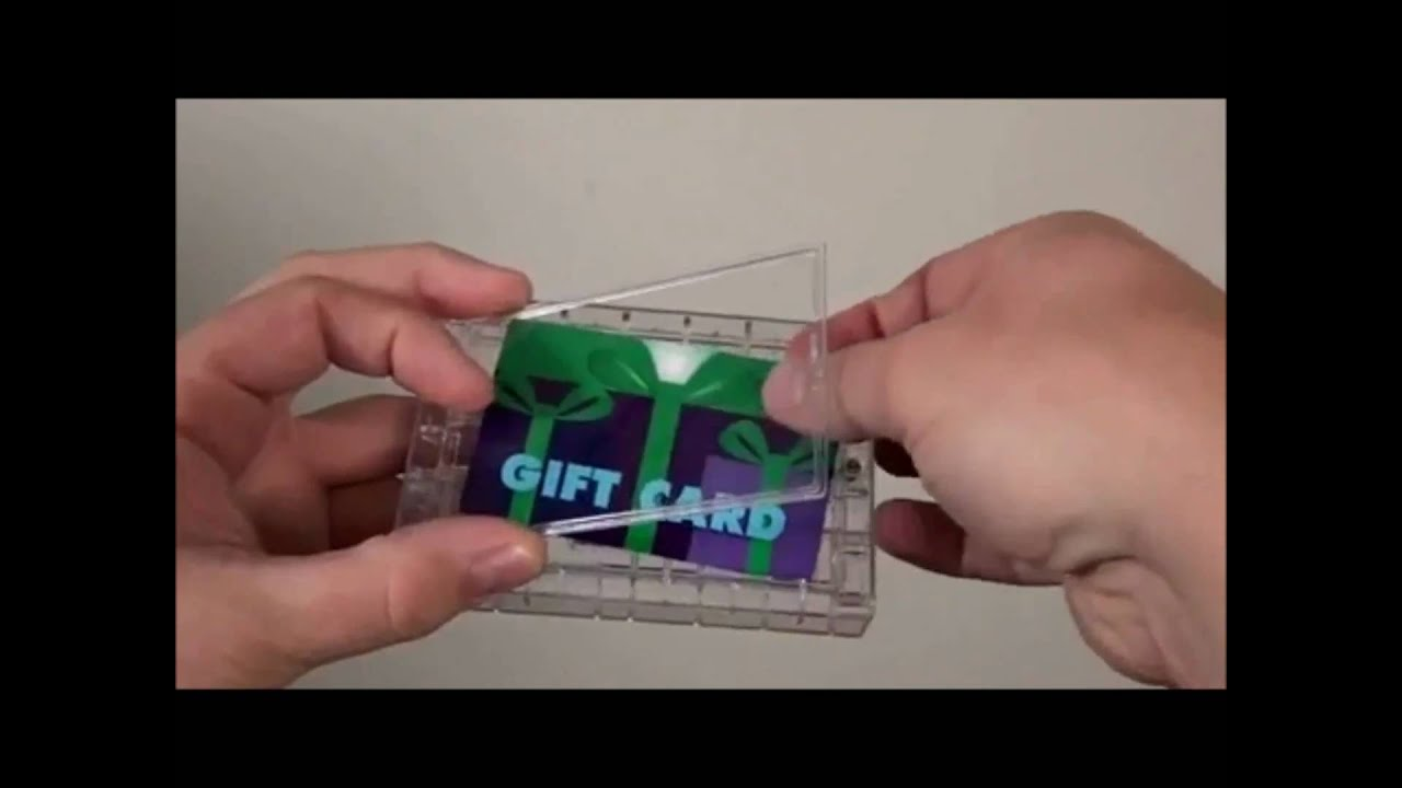 Gift Card Maze Makes A Great Gift Youtube