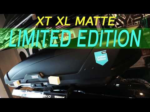 Review THULE XT XL limited Edition Blue Black MATTE
