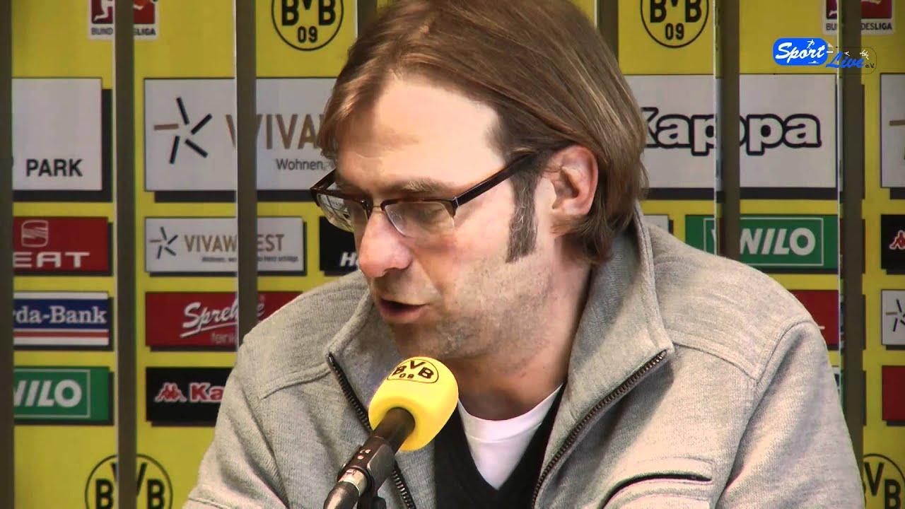 Borussia Dortmund - FSV Mainz 05 : Pressekonferenz vor dem Spiel mit Jürgen Klopp (Teil 2)
