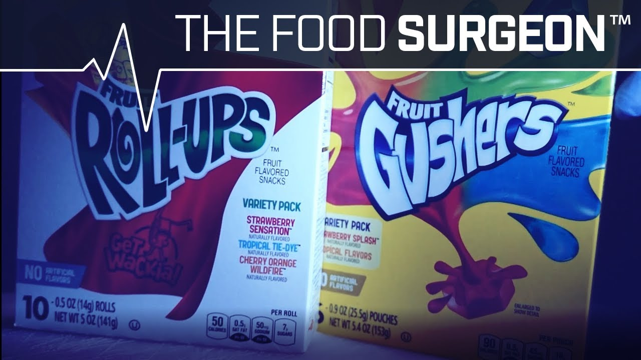 Extended Cut - Fruit Roll-Up-Plasty with Gusher Juice Transfusion