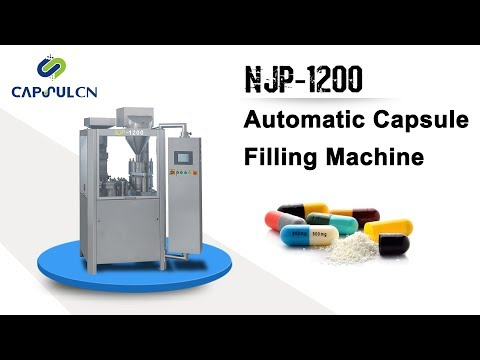 NJP-1200 Auto Capsule Filling Machine Operation Video