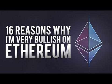 Ethereum (ETH): 16 Reasons Why I'm VERY BULLISH!