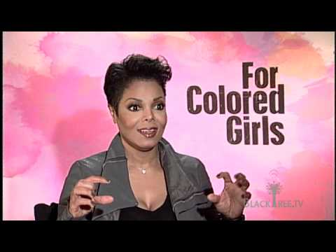 For Colored Girls Interview with Janet Jackson (still Ms. Jackson if you nasty)