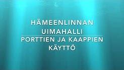 Hämeenlinnan uimahallin porttien ja kaappien käyttö