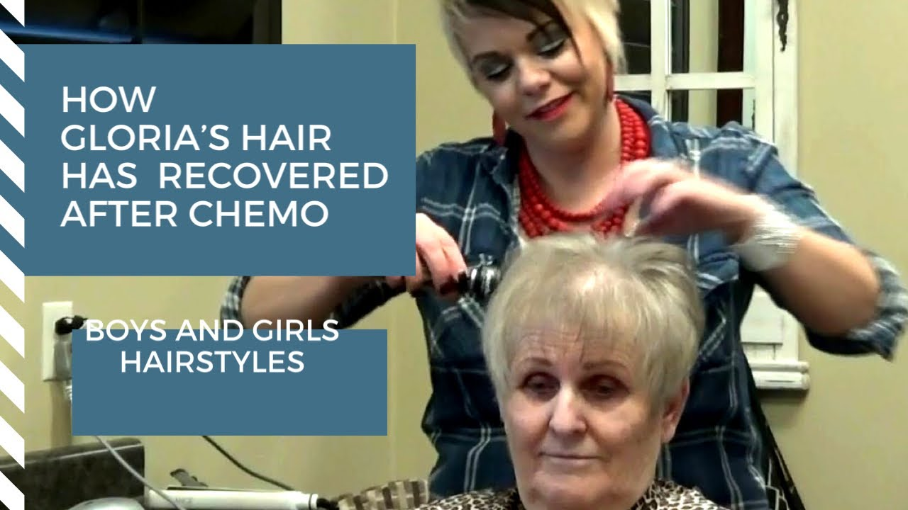 short thin hair recovering from lymphoma cancer hairstyle ♋