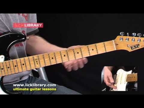 Playing Sustained Notes While Controlling Amp Feedback - Session 21 - Danny Gill Licklibrary