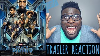 Black panther - official trailer reaction