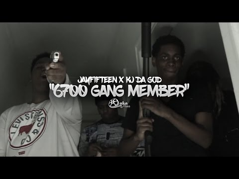 "Jayfifteen x Kj Da God - ""6700 Gang Member"" (Official Music Video)"