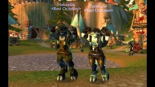 WoW Classic: Multi-Box Questing Tauren Warrior/Shaman Part 1