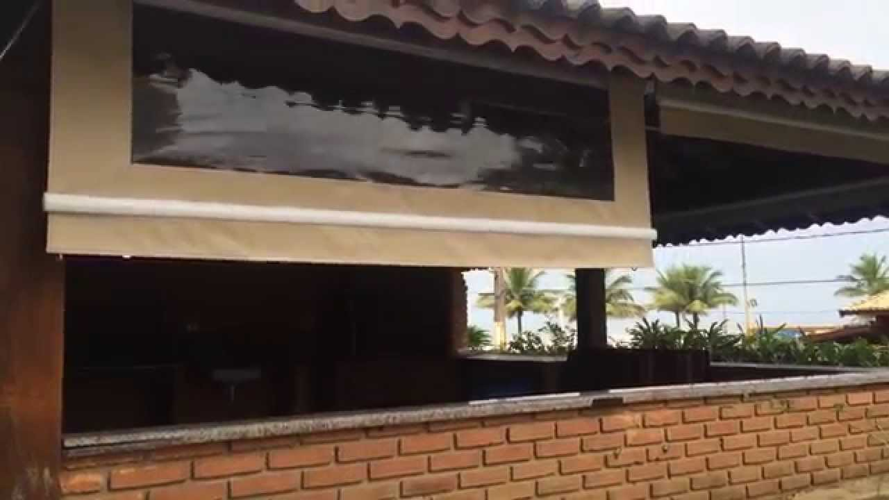 Impact toldos cortina de lona youtube - Cortinas de loneta ...