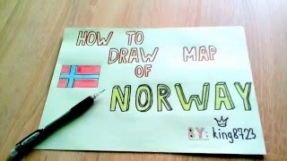 How to draw map of Norway