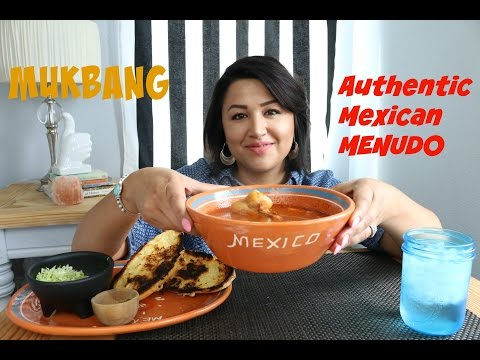 Authentic Mexican MENUDO MUKBANG- Relationship & Happiness chat