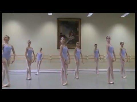Вагановка урок классического танца 4 класс видео