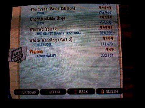 Custom: Rock Band 2 Songs on Guitar Hero 3 for Wii
