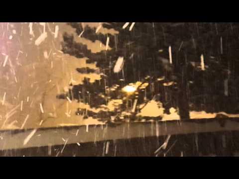 Heavy lake effect snow