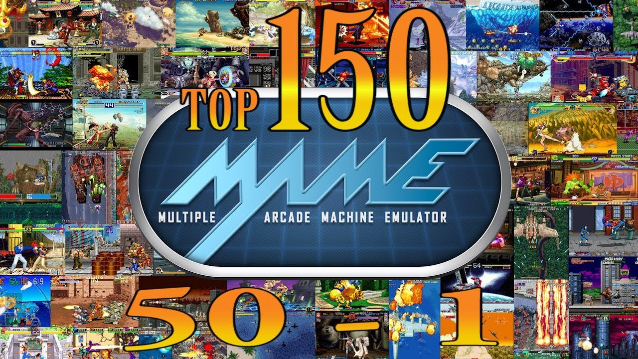 Top 150 MAME Arcade Games  (50-1)