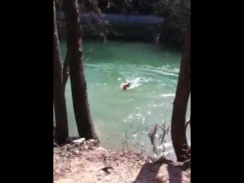 Jackson Diving At Barton Springs Part 7
