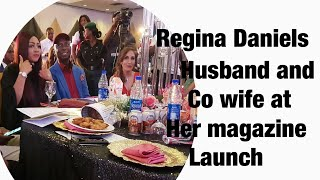 Regina Daniels magazine lunch