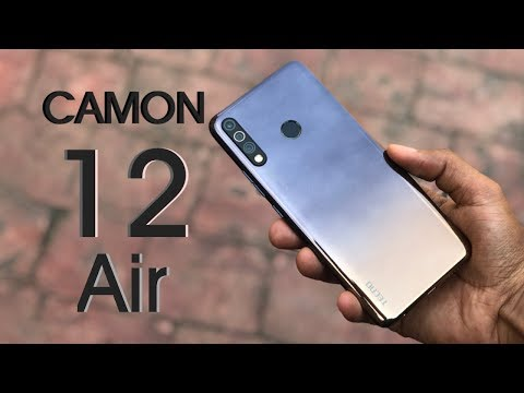 TECNO Camon 12 Air Unboxing and Review