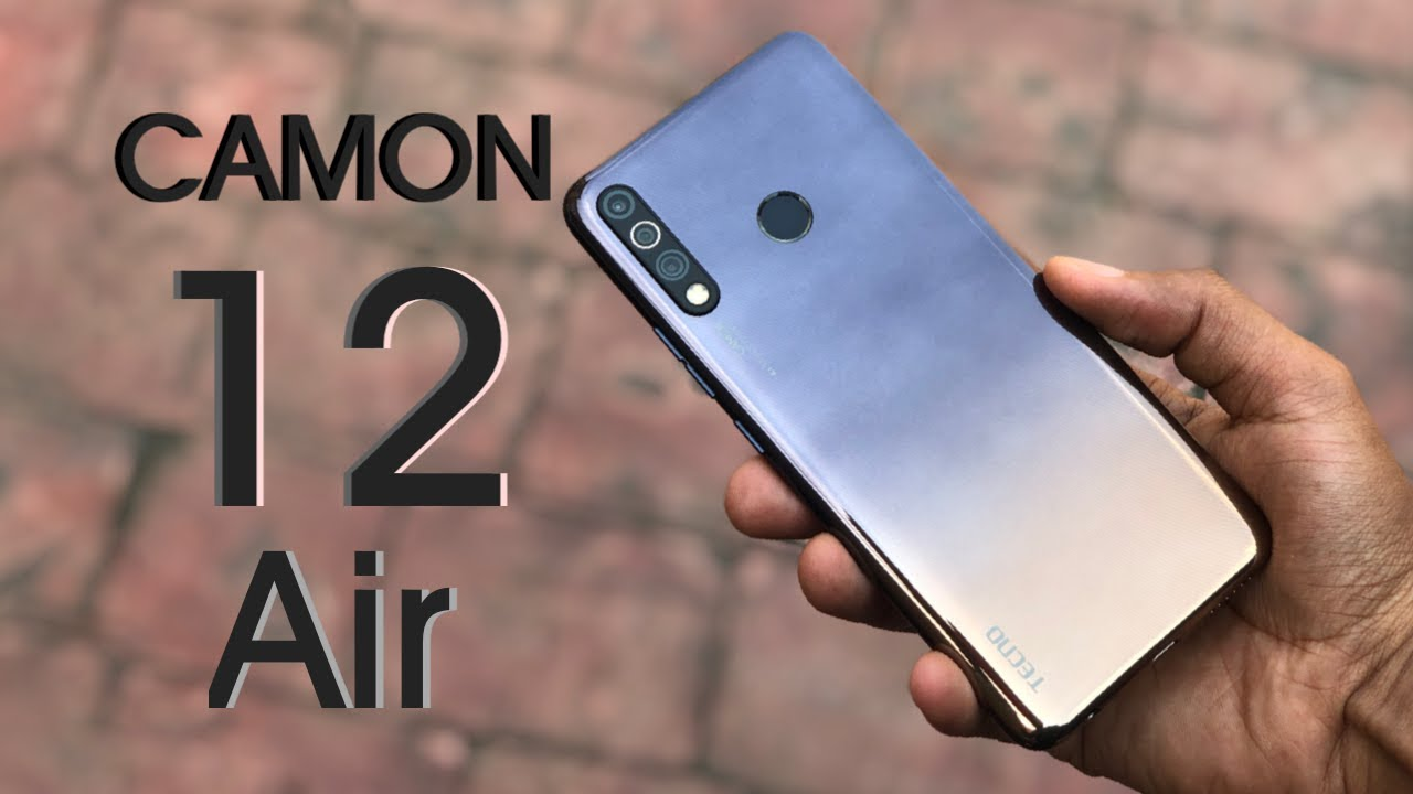 Download TECNO Camon 12 Air Unboxing and Review