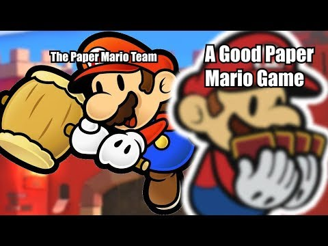 How To Make A PROPER Paper Mario Sequel