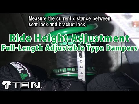 Ride Height Adjustment Full-Length Adjustable Type Dampers