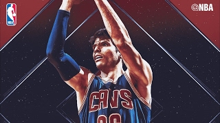kyle korver 29 pts off bench 8 threes 7th all time 3s made cavs vs pacers
