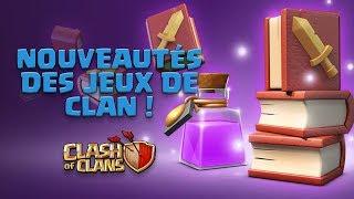 MISE A JOUR MARS 2018 : Nouveautés des jeux de clans sur Clash of Clans Fr !