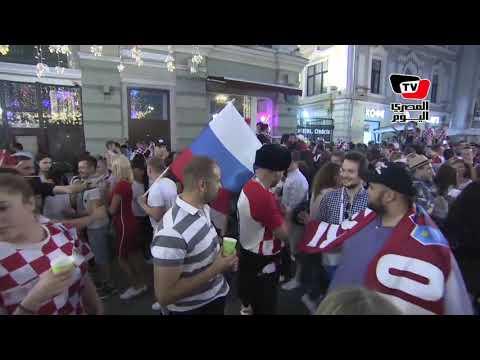 الجماهير الكرواتية تحتفل في شوارع موسكو قبل مواجهة فرنسا في نهائي كأس العالم  - نشر قبل 6 ساعة