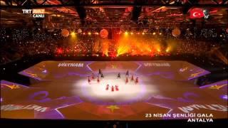 23 Nisan Şenliği Gala Antalya - TRT Avaz