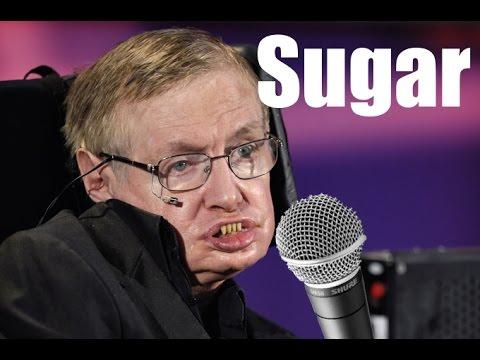 """Stephen Hawking Sings """"Sugar"""" by Maroon 5"""