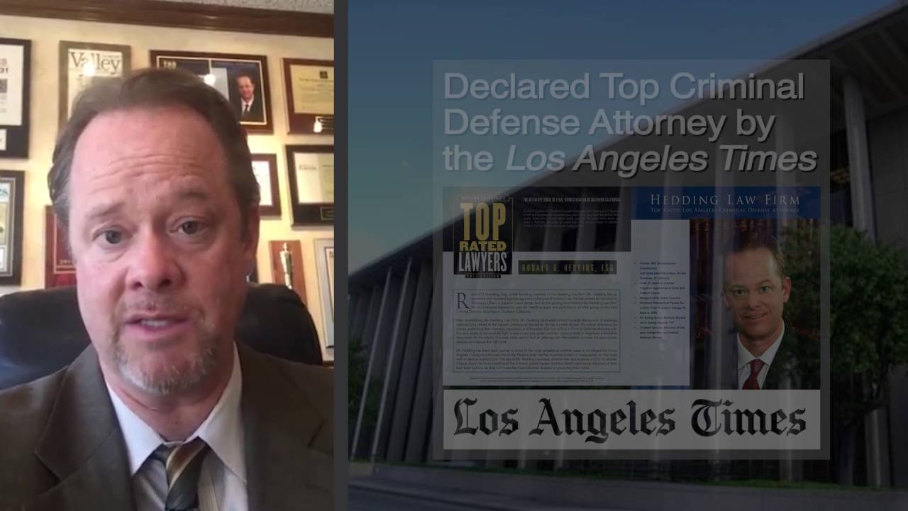 Alhambra Courthouse Criminal Defense Attorney | Hedding Law Firm