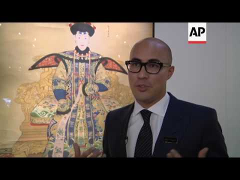 Modern and classic art in auction house show