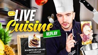 Chef Bizot et son magret à l'ananas ! (Live cuisine)